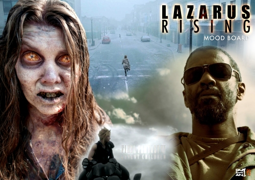 LAZARUS RISING: Moodboard