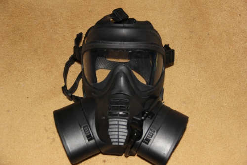 GSR Respirator Gas Mask  ©2012 Photo by Dulani Wilson
