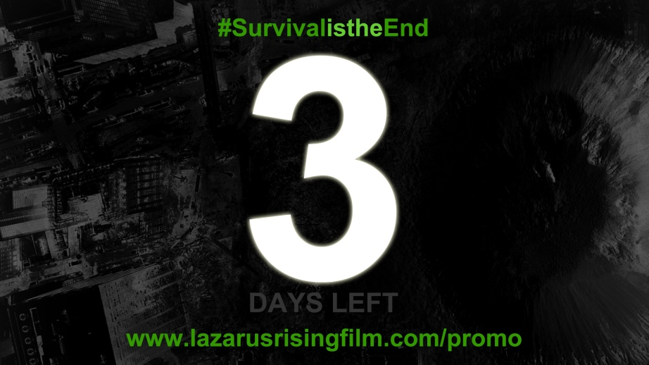 3 Days until the Mayan Sun Stone erases us all. #BlackBox #SurvivalistheEnd