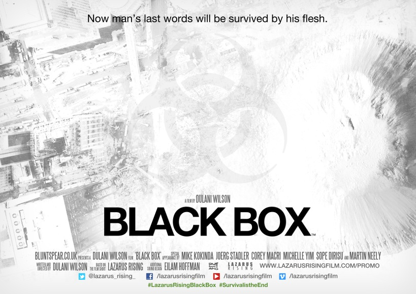 'Black Box' Poster © 2012 Dulani Wilson/Lazarus Rising. All Rights Reserved.